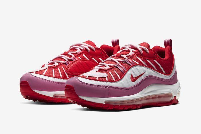 Nike Air Max 98 Pink Red Pair