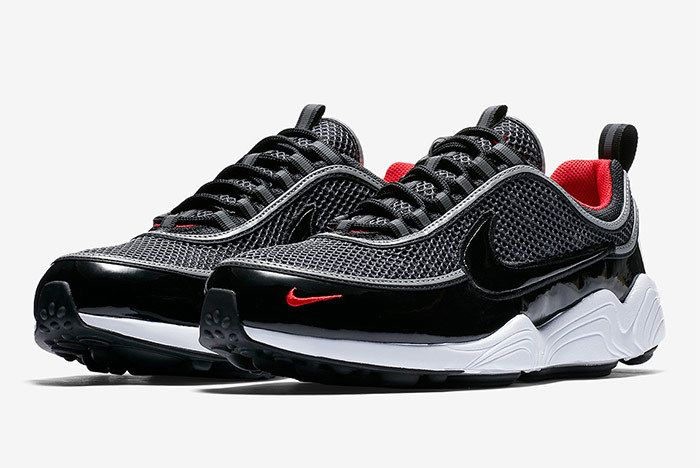Nike Zoom Spiridon Black Patent 2