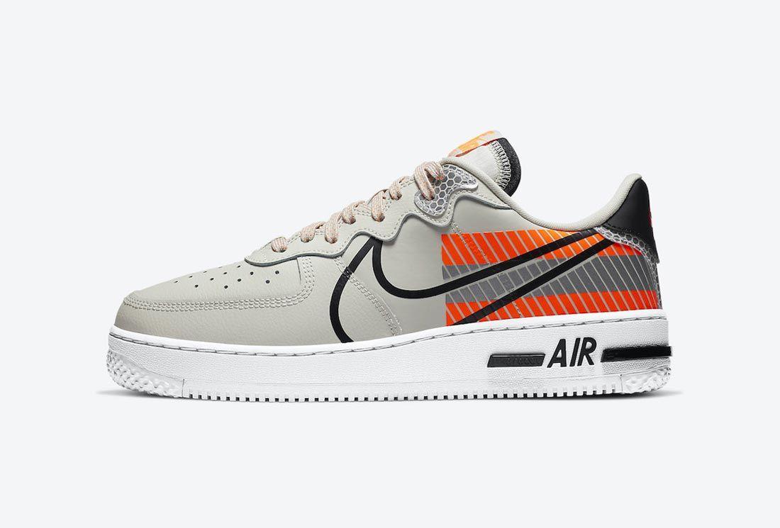 3M x Nike Air Force 1 React