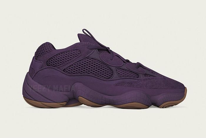 Adidas Yeezy 500 Ultraviolet Release 1
