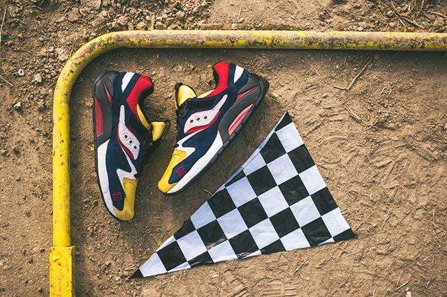 Play Cloths X Saucony Grid 9000 Motocross 13