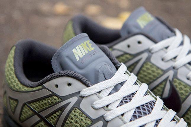 Undercover Nike Lunarspeed Lite Gyakusou Green Burgundy Grey Quater Tongues 1