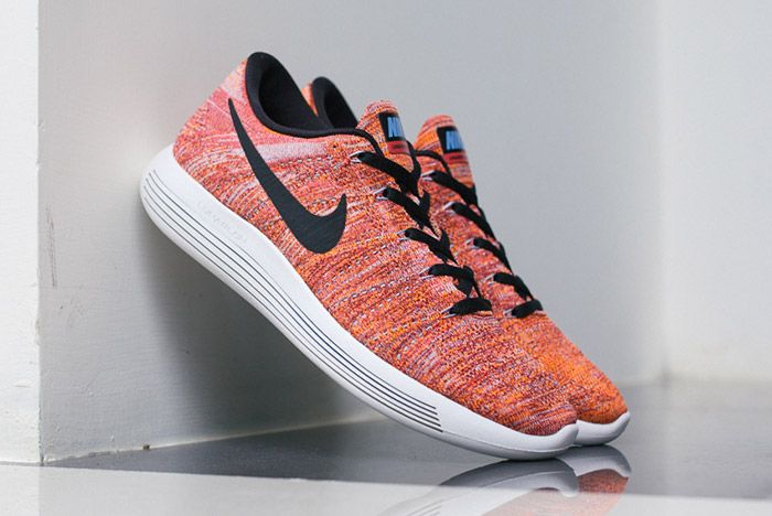 Nike Lunarepic Flyknit Low Orange Red 1