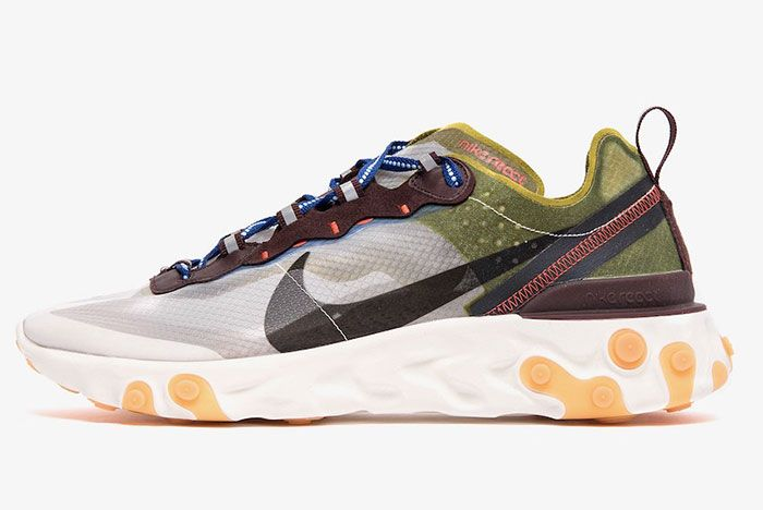 Nike React Element 87 Moss Left