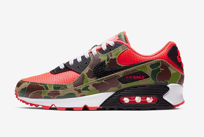 Nike Air Max 90 Reverse Duck Camo Cw6024 600 Release Date Price Official