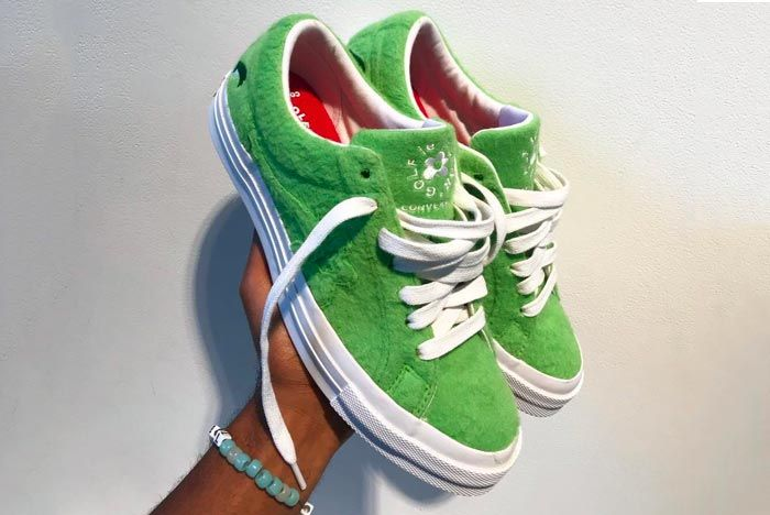 Tyler The Creator Converse Grinch Golf Le Fleur