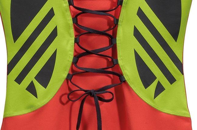 Adidas Jeremy Scott Fringe Logo Dress 2 1