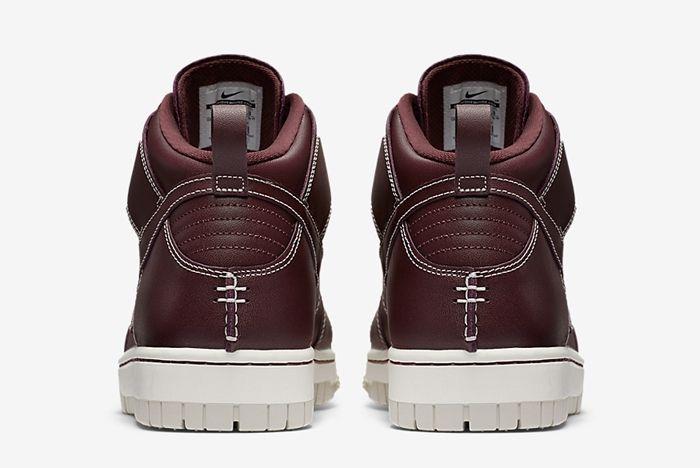 Nike Dunk High Sneakerboot Mahogany 5