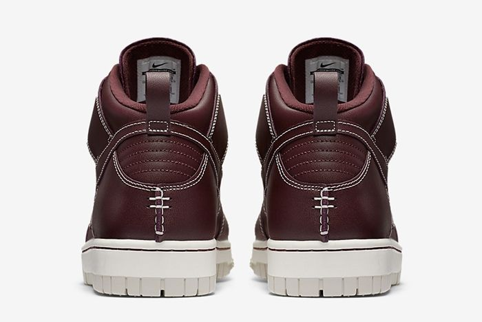Nike Dunk High Sneakerboot Mahogany 5