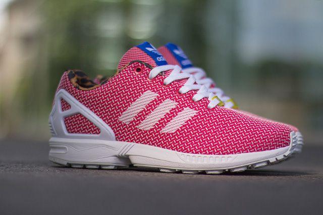 Adidas Originals Zx Flux Weave Vivid Berry 2