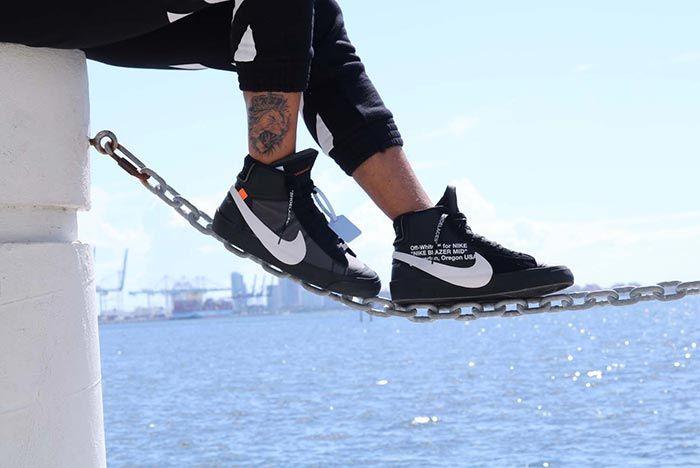 Off White Nike Blazer Halloween Grim Reaper Release 1