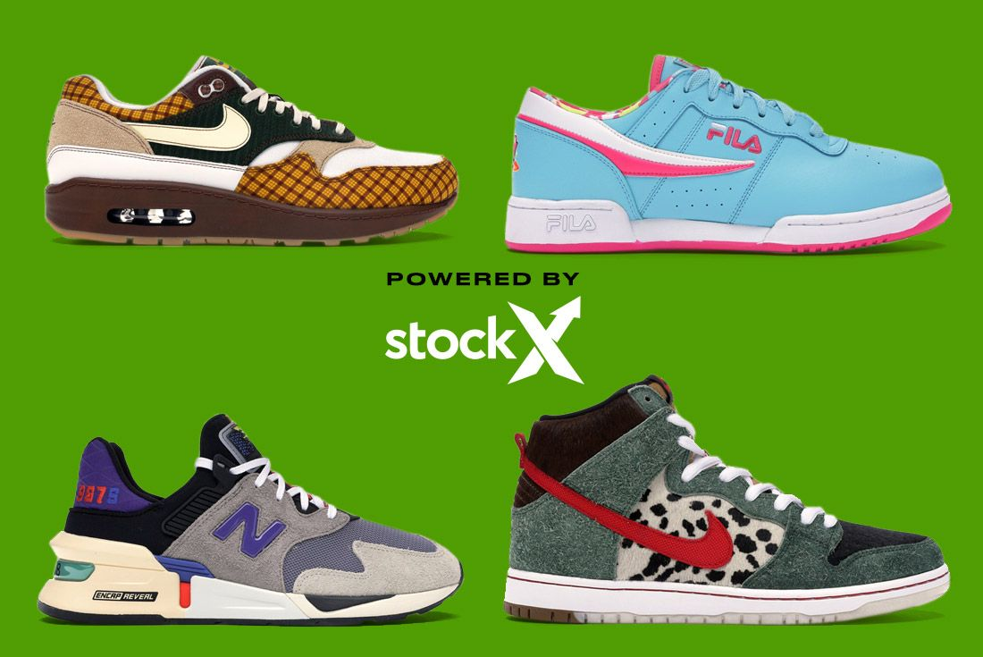 Stockx Resale Sneakers April Graphic