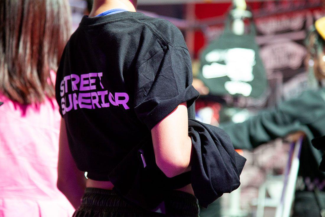 Street Superior Close T Shirt Back