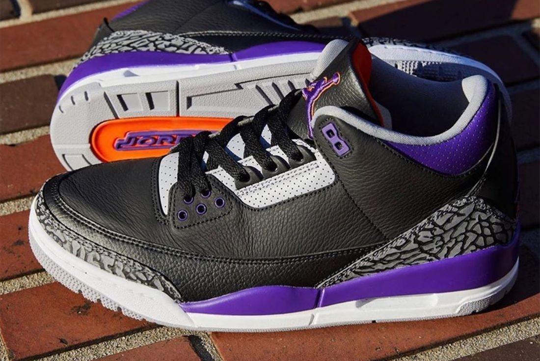 air jordan 3 court purple leaked shot