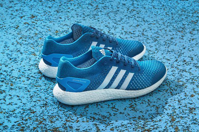 Adidas Primeknit Pure Boost Solar Blue