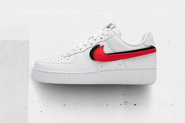 Nike Af1 Swoosh Pack White Sneaker Freaker 1