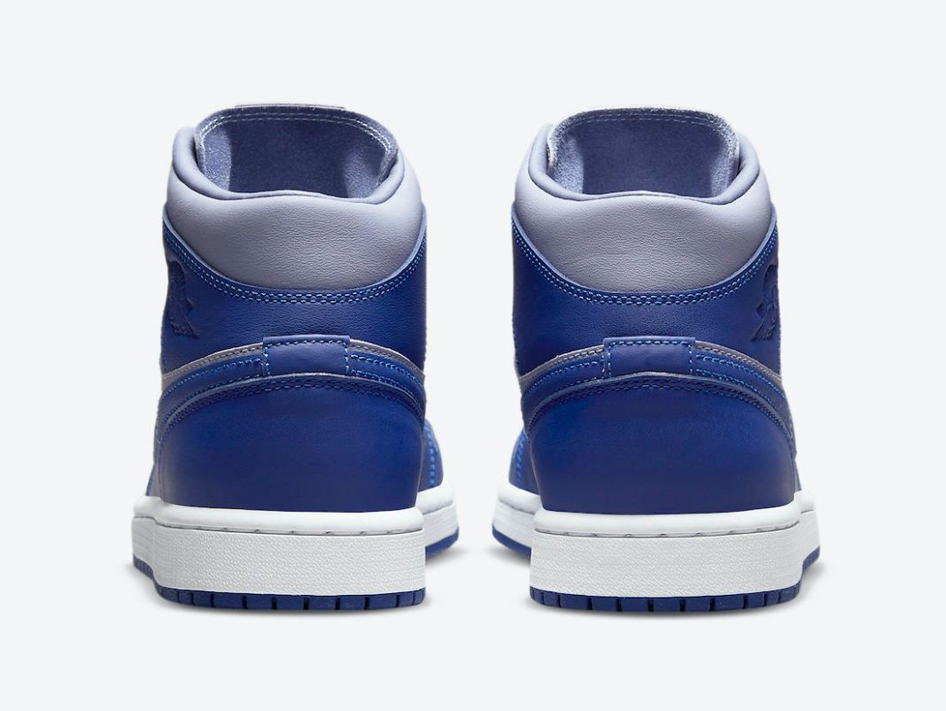 air jordan 1 mid blue grey DH7821-500