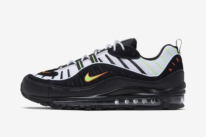 Nike Air Max 98 Neon Lateral