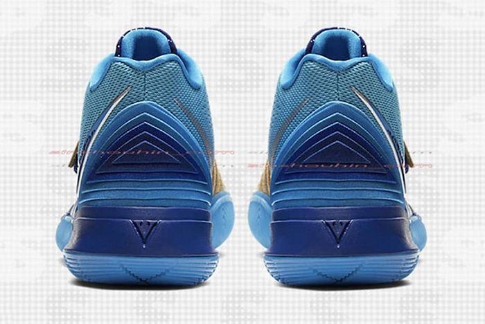 Concepts X Nike Kyrie 5 Leak Heel Shot