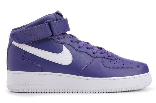 Nike Air Force 1 Mid Purple 1