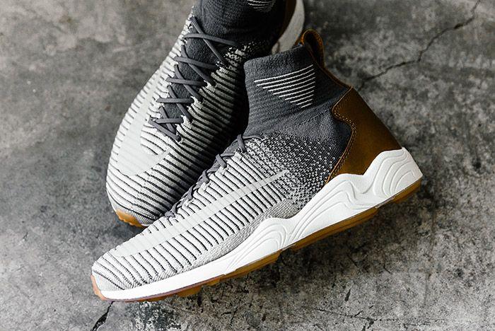 Nike Zoom Mercurial Flyknit Dark Grey 3