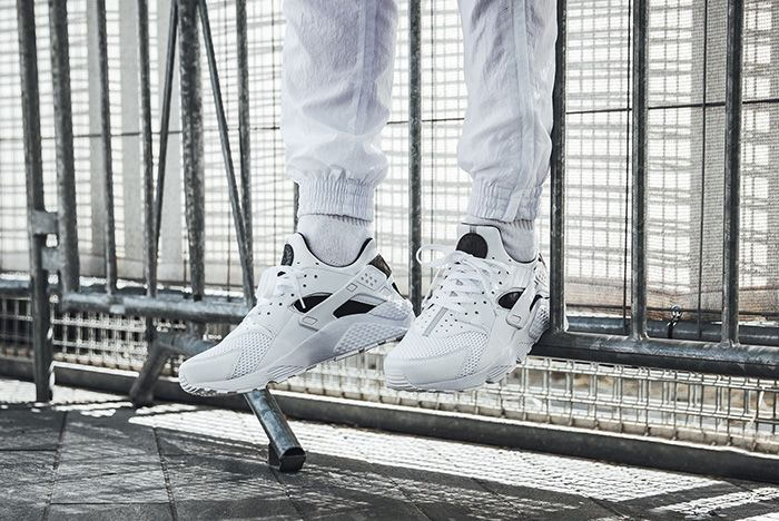 Air Huarache White Black 4