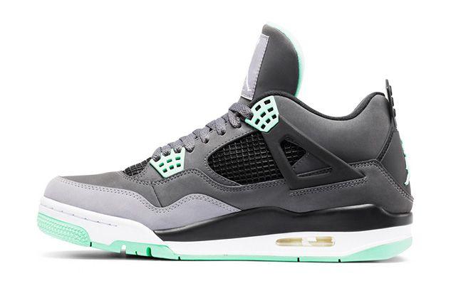 Air Jordan 4 Green Glow 5