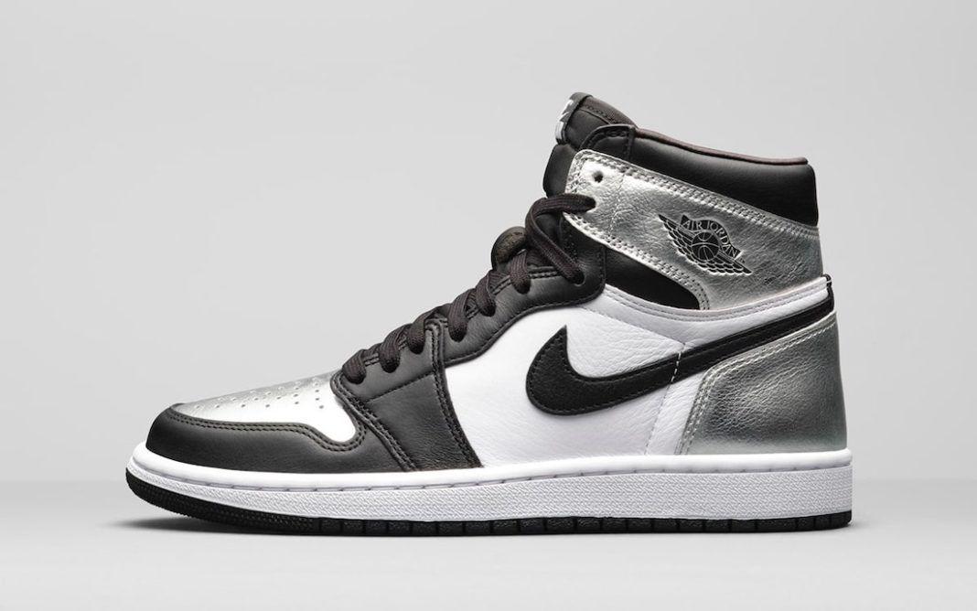 Women's Air Jordan I 'Silver Toe'