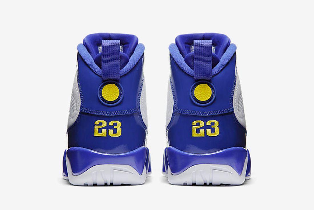 Air Jordan 9 Tour Yellow 6