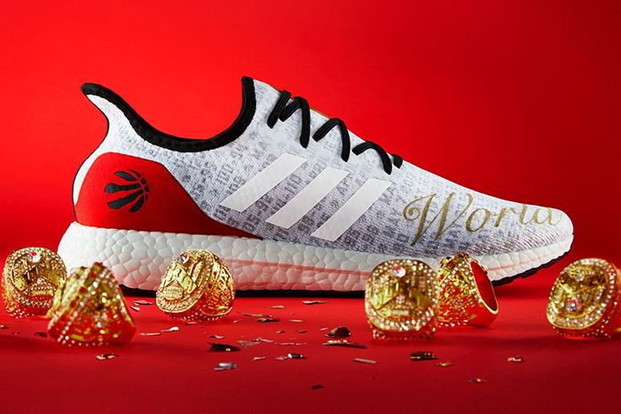 Toronto Raptors Adidas Am4 World Champs Release Date Right