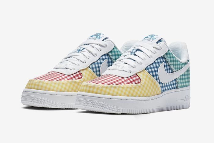 Nike Air Force 1 Gingham Pack Colour Pair
