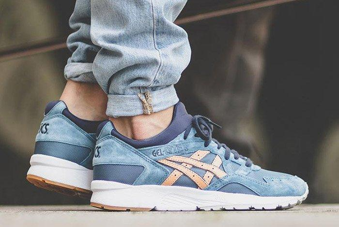 Asics Gel Lyte V Veg Tan Pack Planet Blue Mirage 3