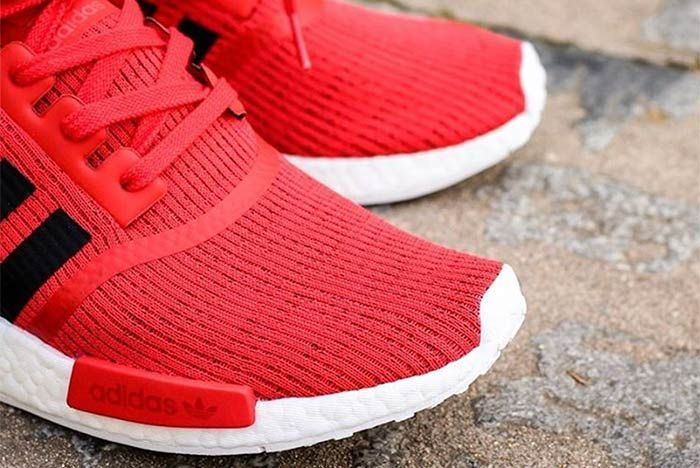 Adidas Nmd R1 Core Red 2