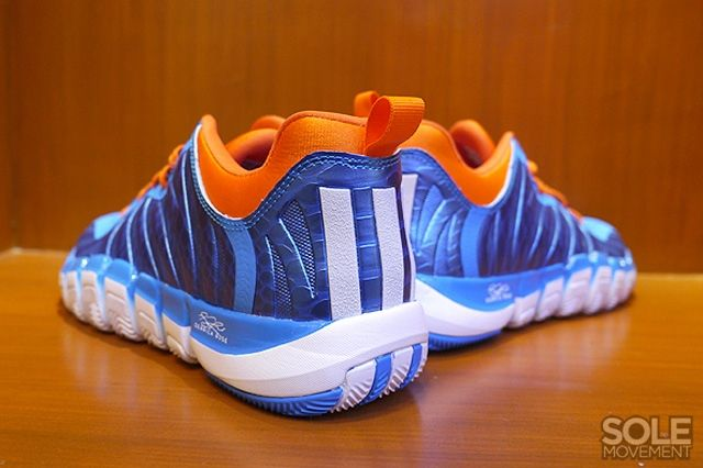 Adidas D Rose Englewood 2 Blue Orange 1
