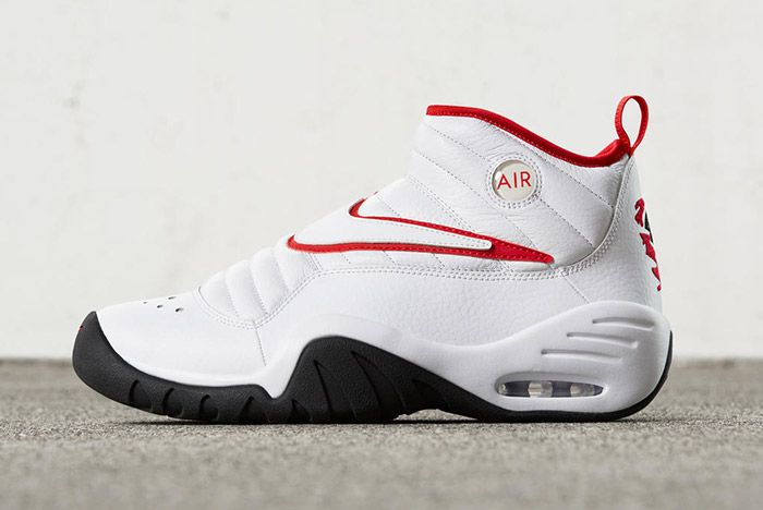 Nike Air Shake Ndestrukt Retro White Red 4