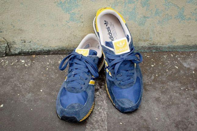 Adidas Originals Marathon Pt Navy Yellow 2