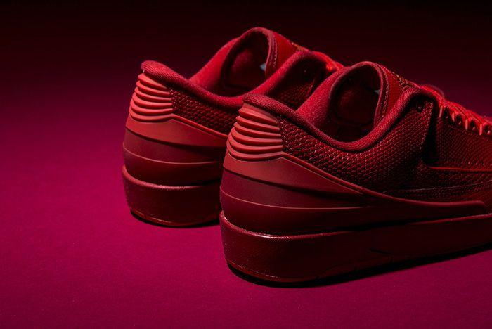 Air Jordan 2 Gym Red 3