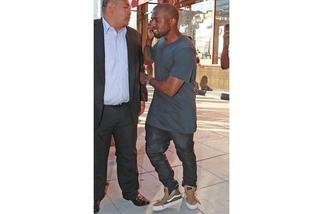 Kanye West Sneaker Style Vans Skate Hi