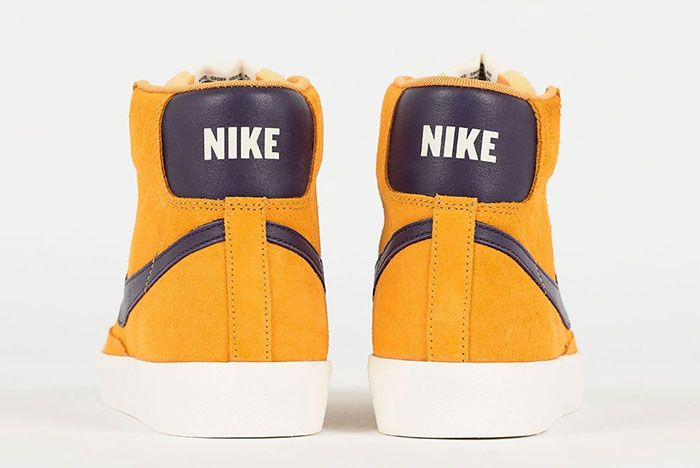 Nike Blazer Mid Vintage Yellow Maroon Cj9693 800 Heels