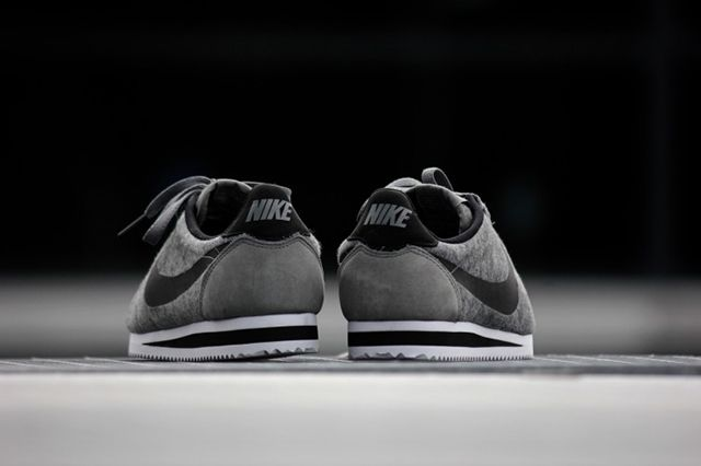 Nike Cortez Tech Fleece Tumbled Grey 4