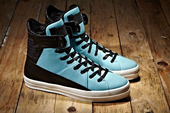 Android Homme The Grid Cyan 1