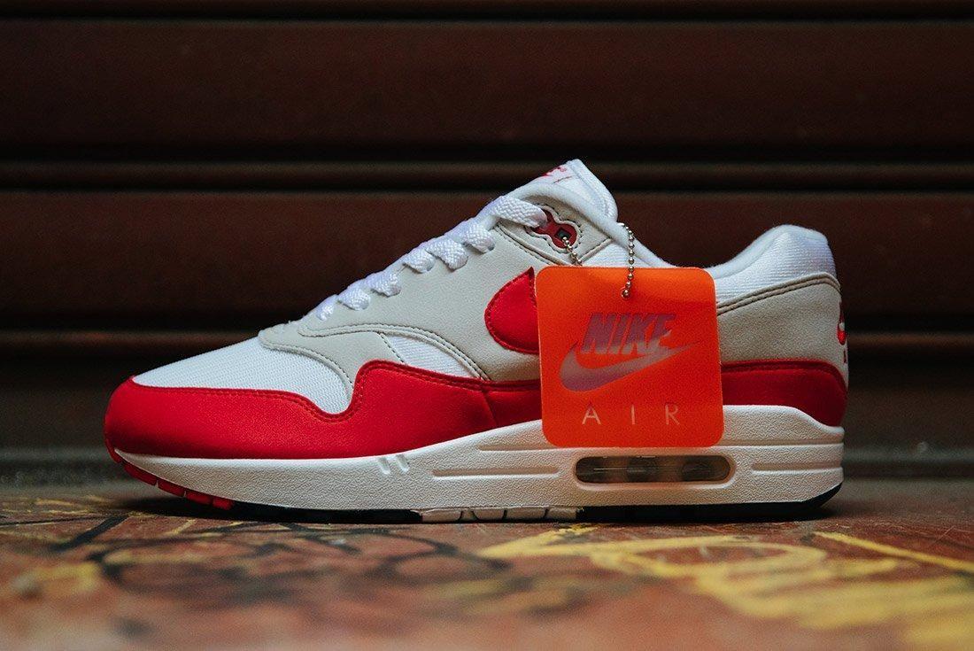 Nike Air Max 1 Anniversary Og Red White 11