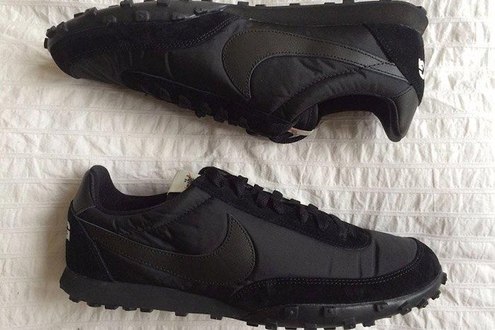 Comme Des Garcons Nike Waffleracer Black 5
