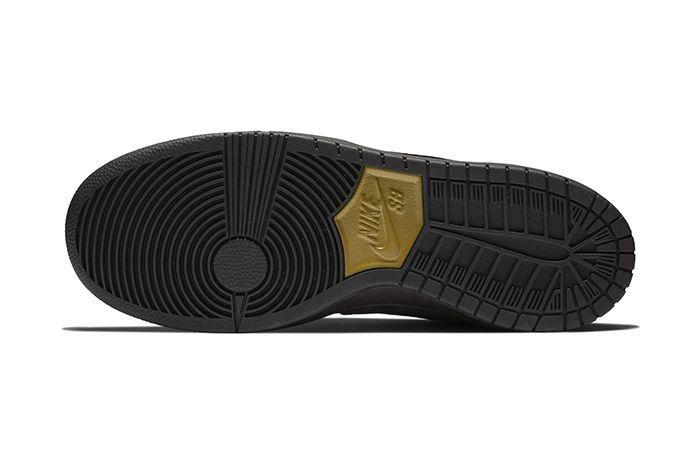 Nike Sb Dunk High Decon Black Gold 4