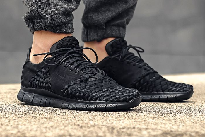 Nike Free Inneva Woven 2 Triple Blackfeature