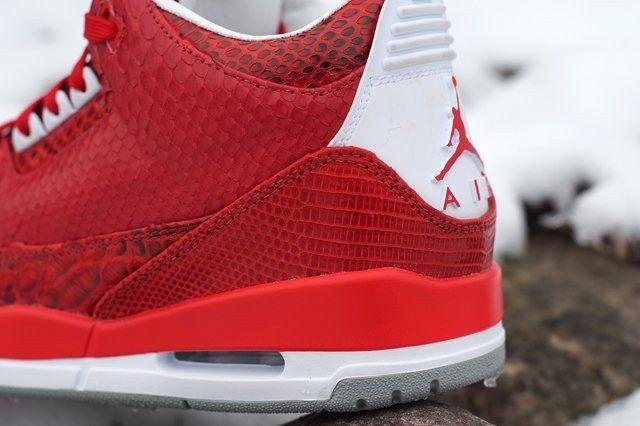 Jbf Customs Air Jordan 3 Valentines 6
