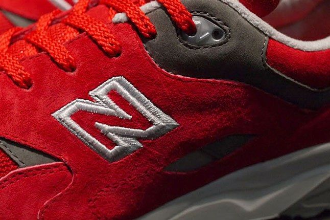 New Balance Red Suede 1600 1