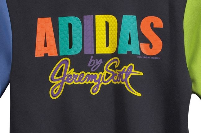 Adidas Jeremy Scott Crew Sweatshirt 1 1