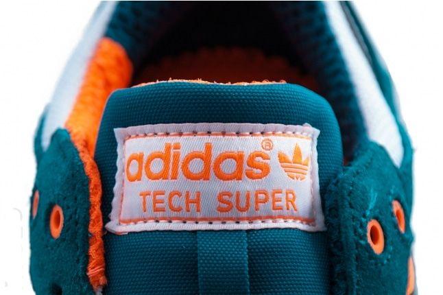 Adidas Tech Super Warning Collegiate Silver Tongue 1