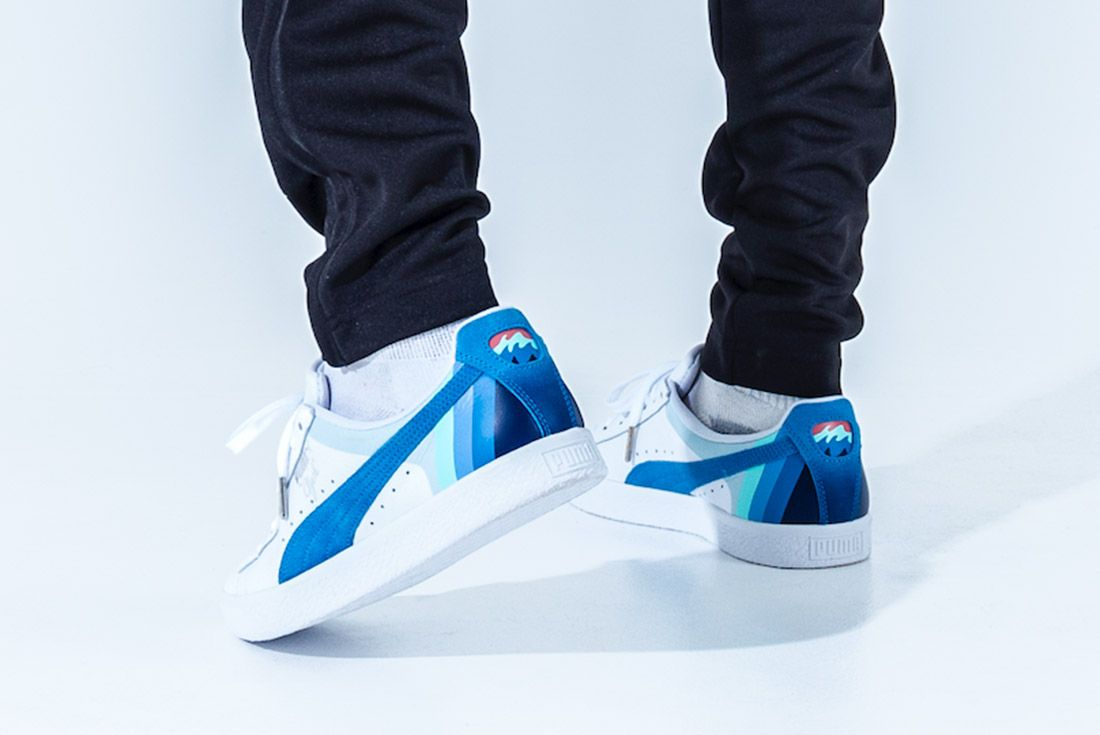 Pink Dolphin X Puma Clyde Pack Sneaker Freaker 3
